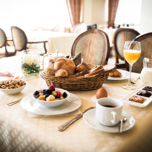 Heerlijk ontbijtje bij Hotel Voncken
