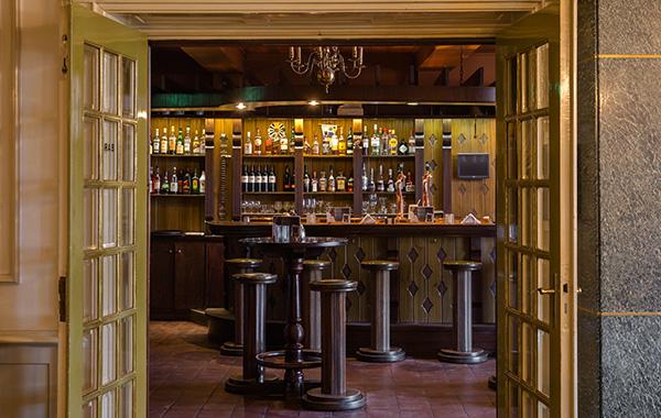De bar van Hotel Voncken