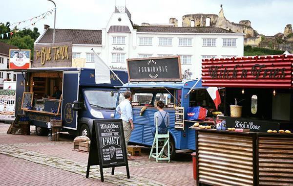 Markt voor Hotel Voncken